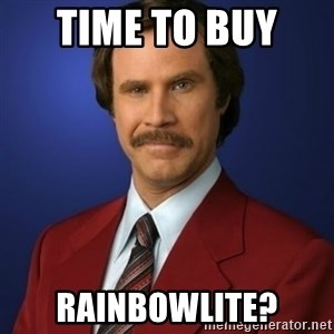 Anchorman Birthday - Time to buy  RainbowLite?