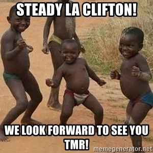 Dancing African Kid - STEADY LA CLIFTON! We look forward to see you tmr!
