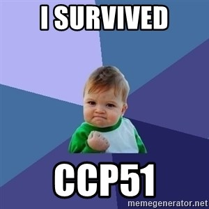 Success Kid - I survived CCP51