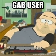 South Park Wow Guy - gab user
