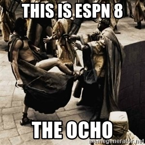 sparta kick - this is espn 8 the ocho