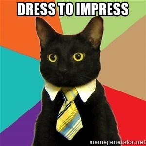 Business Cat - Dress to impress