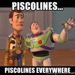 Buzz lightyear meme fixd - Piscolines... Piscolines everywhere