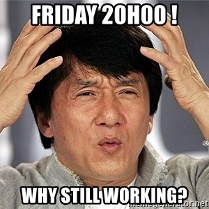Jackie Chan - Friday 20h00 ! Why still working?