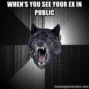 Insanity Wolf - When's you see your ex in public