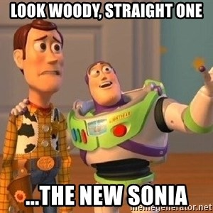 Consequences Toy Story - look woody, straight one ...The new Sonia