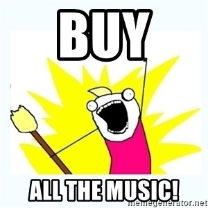 All the things - BUY  ALL THE MUSIC!