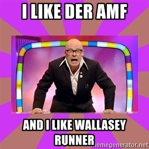 Harry Hill Fight - I like Der Amf And I like Wallasey Runner