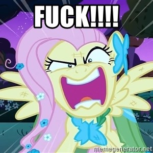 angry-fluttershy - FUCK!!!!