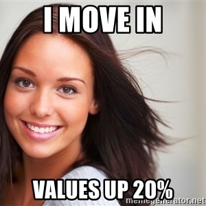 Good Girl Gina - I move in Values up 20%