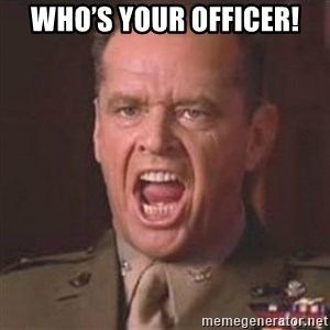 Jack Nicholson - You can't handle the truth! - Who's your officer!