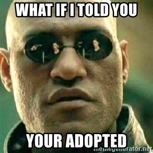 What If I Told You - What if i told you Your adopted