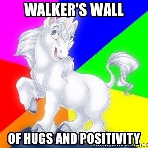 Gayy Unicorn - Walker's Wall of Hugs and Positivity