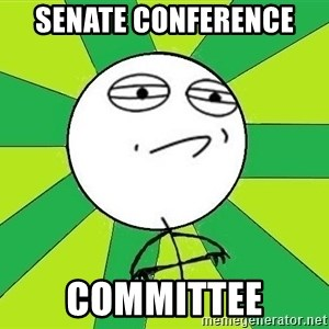 Challenge Accepted 2 - Senate Conference  Committee