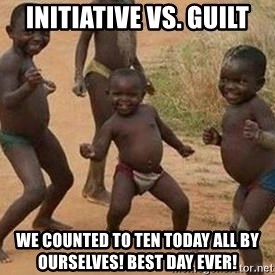 african children dancing - Initiative vs. Guilt We counted to ten today ALL BY OURSELVES! Best day ever!