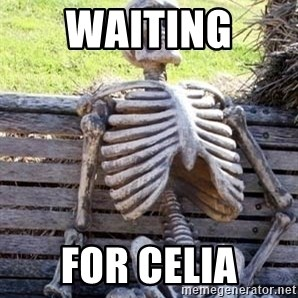 Waiting For Op - Waiting  For Celia