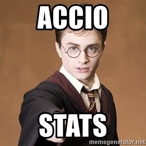 Advice Harry Potter - Accio Stats