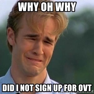 James Van Der Beek - WHY oh why did i not sign up for OVt