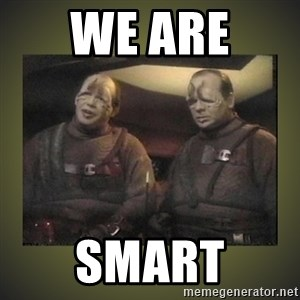 Star Trek: Pakled - We are  Smart