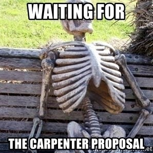 Waiting For Op - Waiting for the carpenter proposal