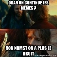 Never Have I Been So Wrong - Odan on continue les memes ? Non namst on a plus le droit