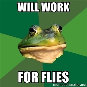 Foul Bachelor Frog - WILL WORK FOR FLIES