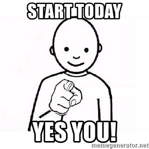 GUESS WHO YOU - start today yes you!