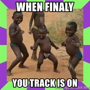 african kids dancing - when finaly you track is on