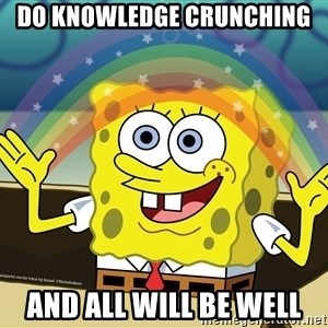 spongebob rainbow - Do Knowledge Crunching And All will be well