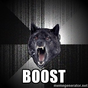 Insanity Wolf - BOOST