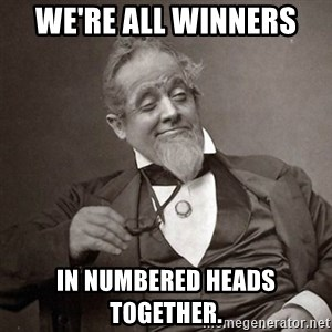 1889 [10] guy - We're all winners  in Numbered Heads Together.