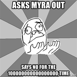 Whyyy??? - Asks Myra Out Says No for the 100000000000000000 time