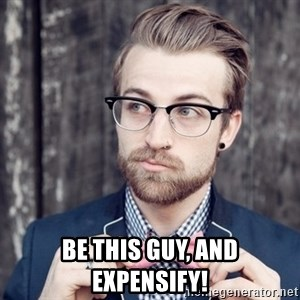 Scumbag Analytic Philosopher - Be this guy, and Expensify!