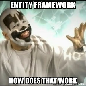 Insane Clown Posse - ENTITY FRAMEWORK HOW DOES THAT WORK