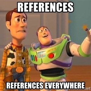 Consequences Toy Story - References References everywhere
