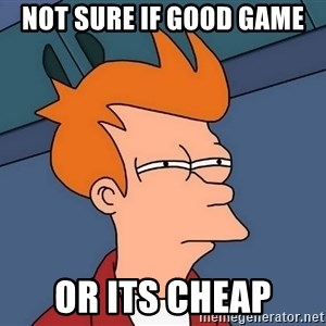 Futurama Fry - not sure if good game  or its cheap
