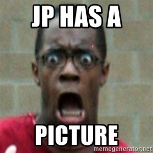 SCARED BLACK MAN - Jp has a  Picture