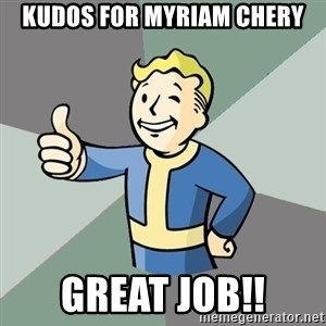 Fallout Boy - Kudos for Myriam Chery Great Job!!