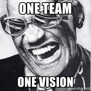 ray charles - One team  one vision