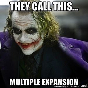 joker - They call this... Multiple expansion