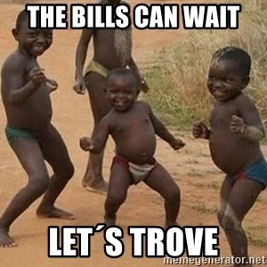 Dancing African Kid - The Bills can wait Let´s Trove