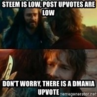 Never Have I Been So Wrong - Steem is low, post upvotes are low don't worry, there is a Dmania upvote