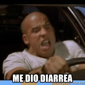 fast and furious - me dio diarrea