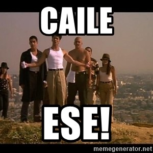 Blood in blood out - Caile ese!