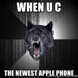 Insanity Wolf - WHEN U C THE NEWEST APPLE PHONE