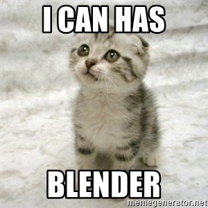 Can haz cat - I can has Blender