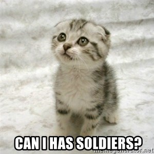 Can haz cat - Can i has soldiers?