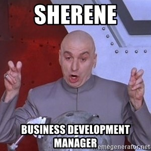 Dr. Evil Air Quotes - SHERENE BUSINESS DEVELOPMENT MANAGER