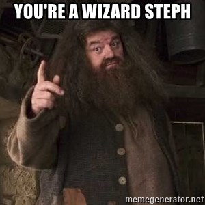 Hagrid - You're a Wizard Steph