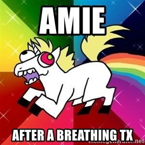 Lovely Derpy RP Unicorn - Amie After a breathing tx